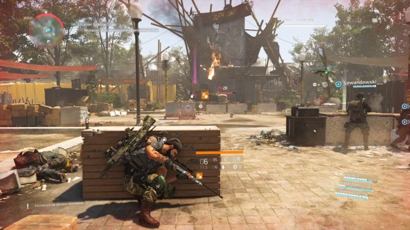 test the division 2 forteresse