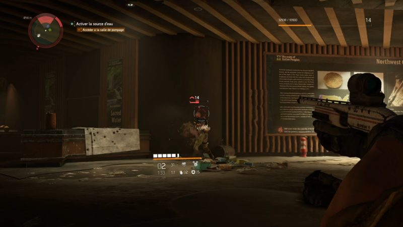 test the division 2 pompe