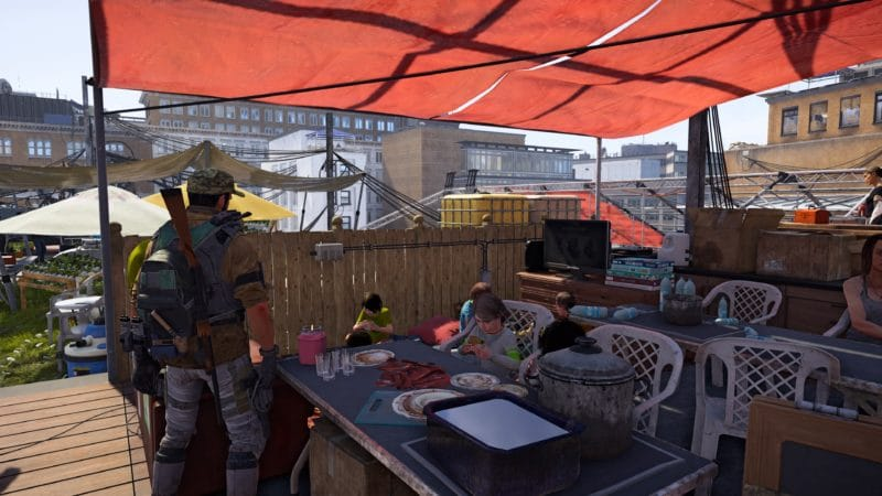 test the division 2 refuge théâtre