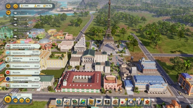 tropico 6 test tour eiffel