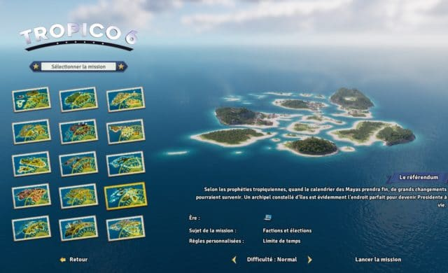 tropico 6 test missions