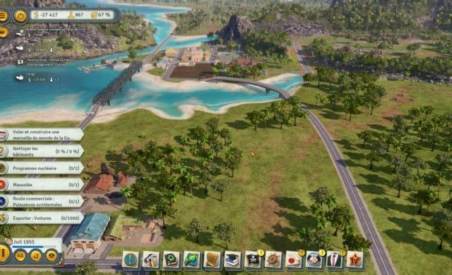 Tropico 6 test archipel pont