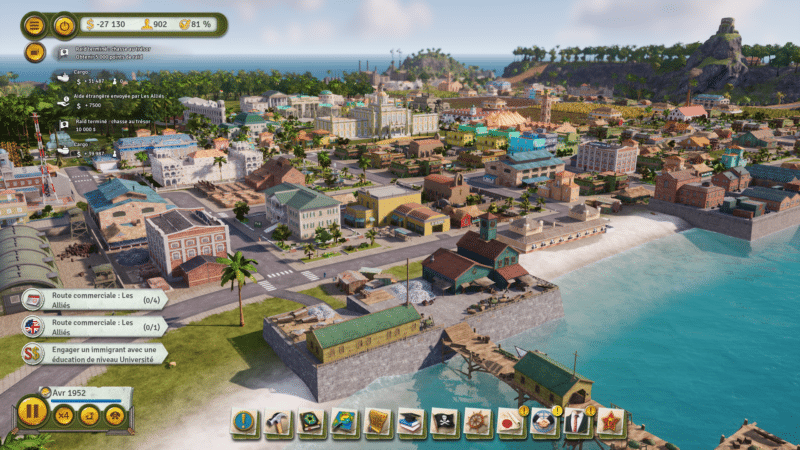 tropico 6 test ville