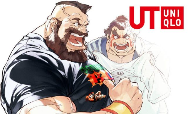 Capcom x Uniqlo Street Fighter Zanghief