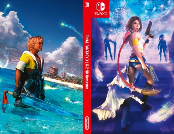 Final Fantasy X X2 jaquette alternative Switch 1