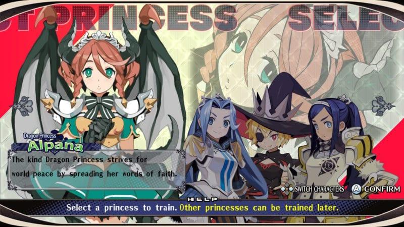 The Princess Guide - 4 héroïnes dans le vent