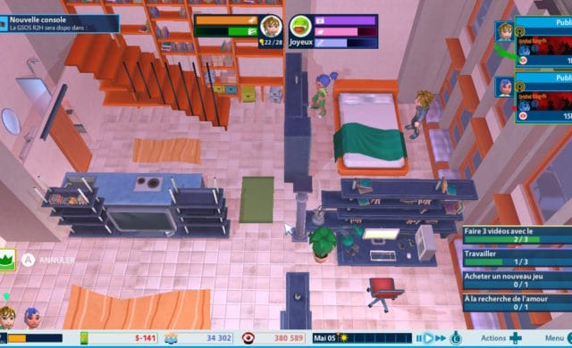 Youtubers Life OMG! loft 2 pièces