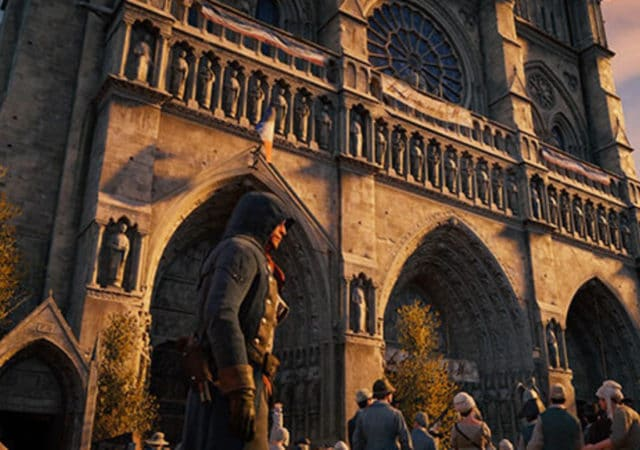 Notre-Dame de Paris Assassin Creed unity