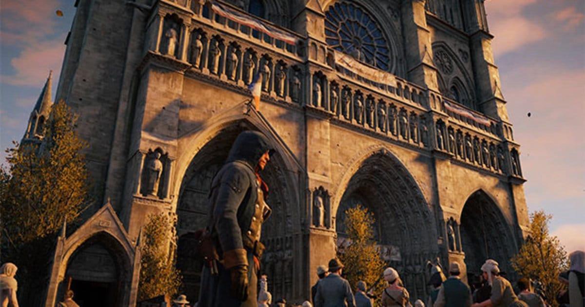 Notre-Dame de Paris Assassin Creed unity