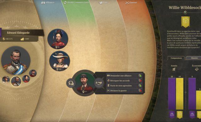 Anno 1800 screenshot diplomatie