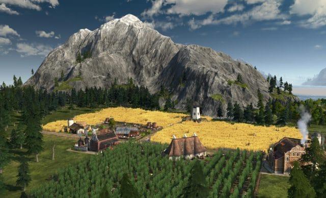 Anno 1800 screenshot moulin