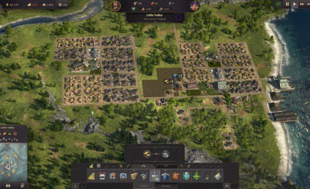 Anno 1800 screenshot village