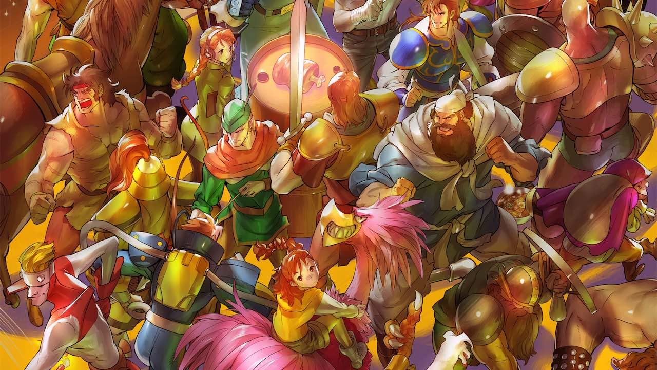 Capcom personnages de beat'em up