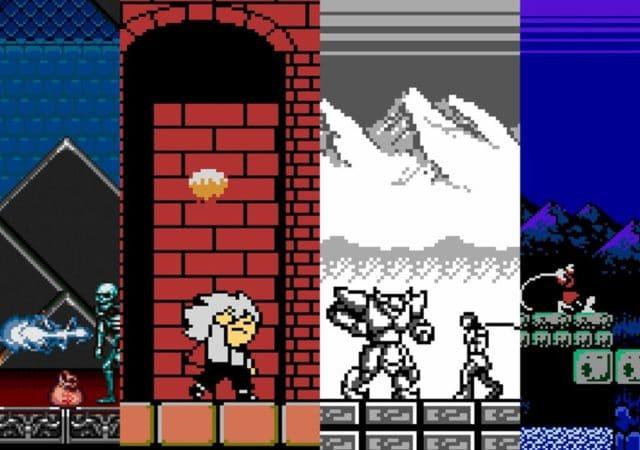 Castlevania Anniversary Collection 4 derniers jeux