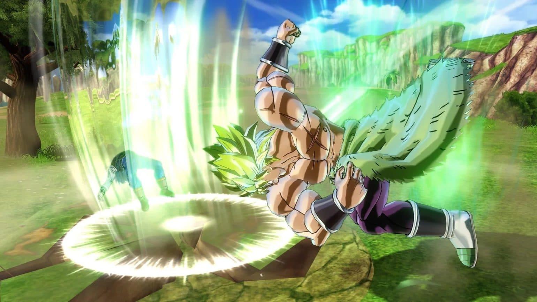 Dragon Ball Xenoverse 2 - Broly bastonne