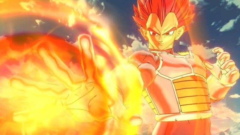 Dragon Ball Xenoverse 2 - Vegeta big bang