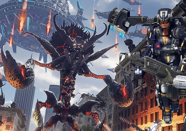 Earth Defense Force: Iron Rain invasion massive