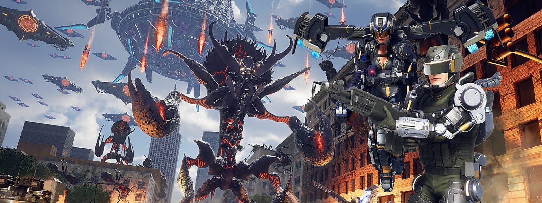 Earth Defense Force: Iron Rain invasion massive