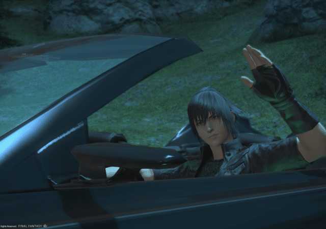 Final Fantasy XIV - Noctis dans la Regalia
