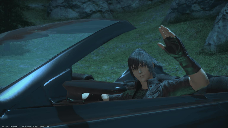 Final Fantasy XIV - Noctis dans la Regalia