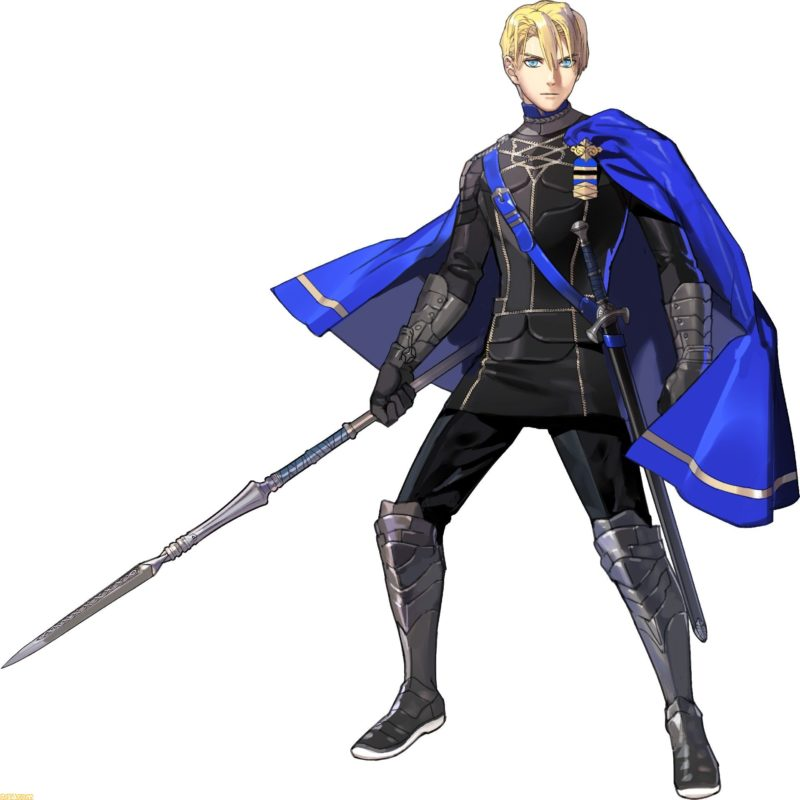 Fire Emblem Dimitri artwork