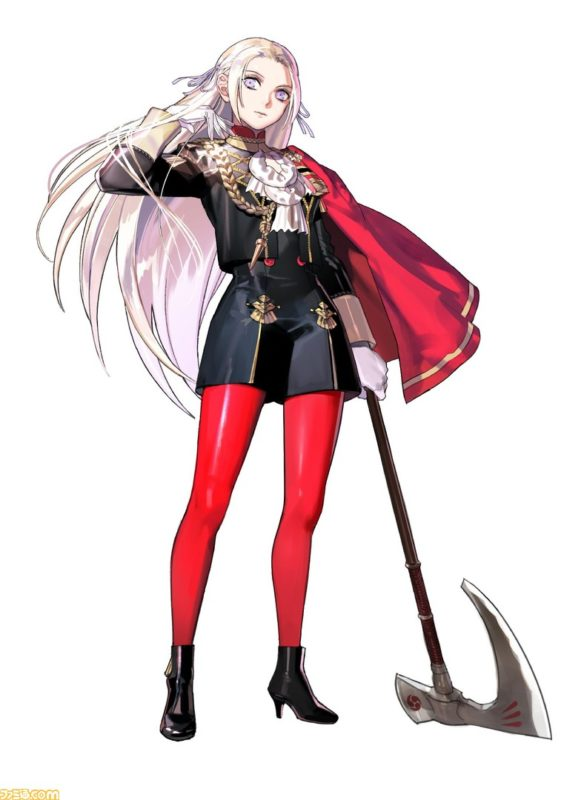 Fire Emblem Edelgard artwork