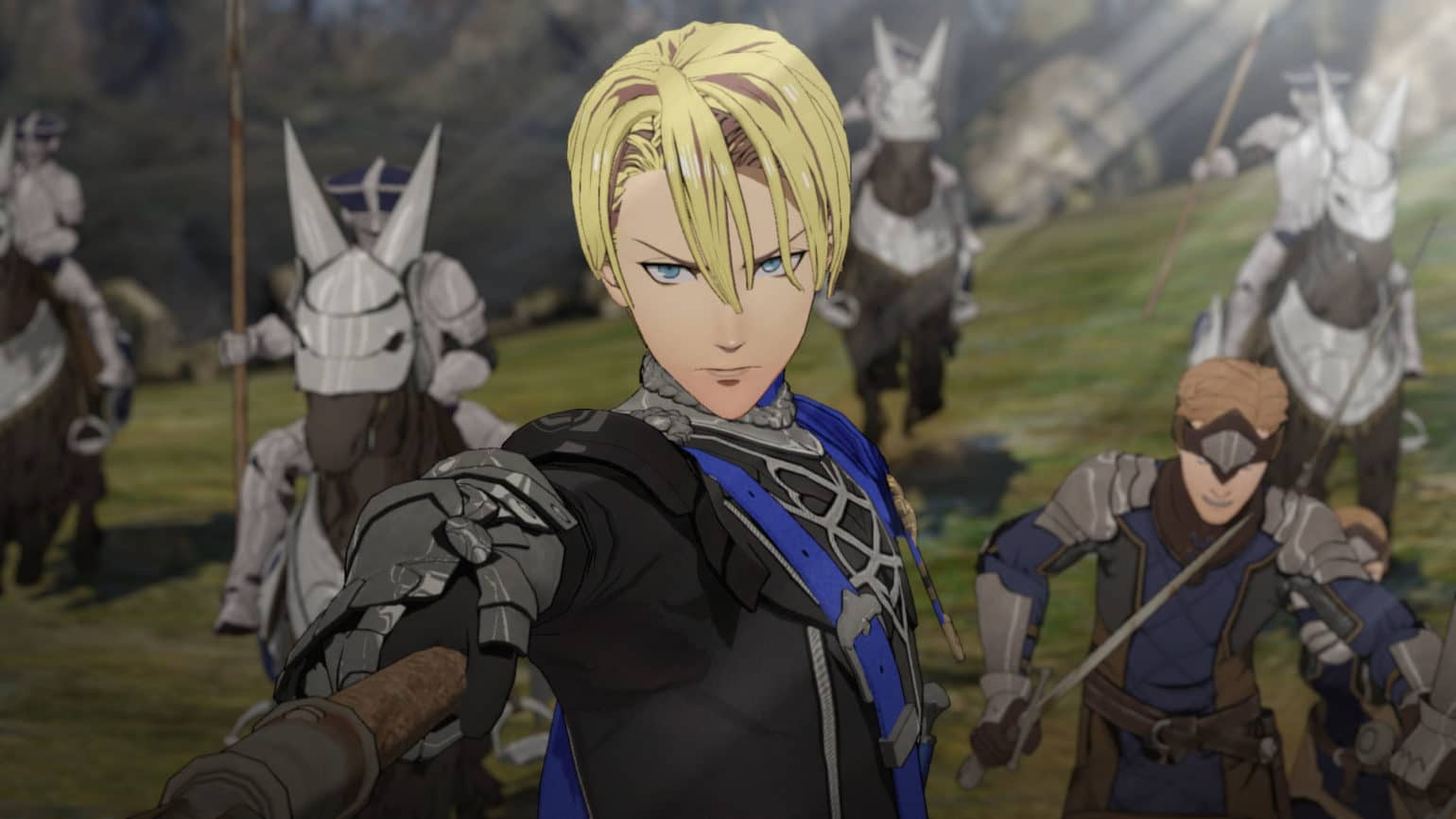 Fire Emblem: Three Houses - Héros frimeur