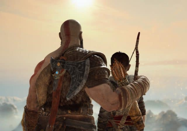 God of War Kratos et Atreus - premier anniversaire