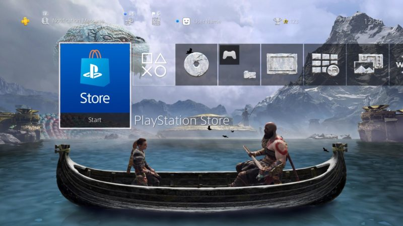 God of War - thème dynamique PS4
