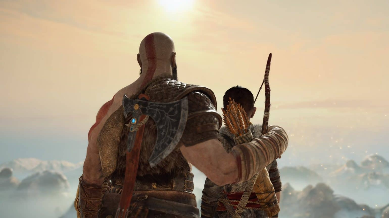 God of War Kratos et Atreus - premier anniversaire