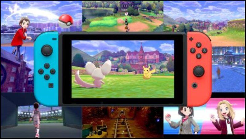 Nintendo Switch Pokémon Sword and Shield image du jeu