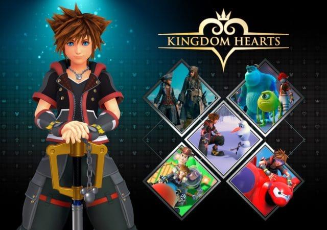Kingdom Hearts III Sora Mondes