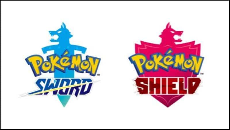 Nintendo Switch Pokémon Sword and Shield Logo du jeu