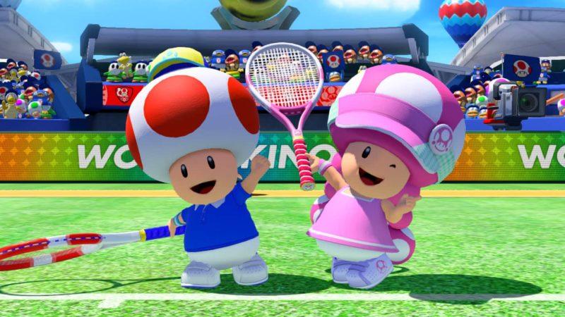 Mario Tennis Aces - Toad et Toadette