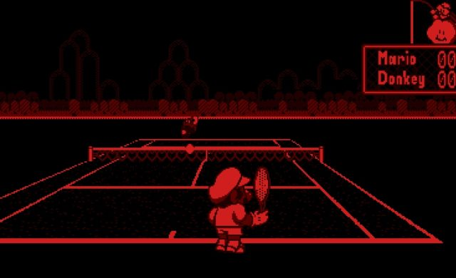 Mario Tennis sur Virtual Boy