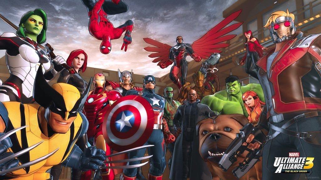 Marvel Ultimate Alliance 3: The Black Order - Freeze Frame