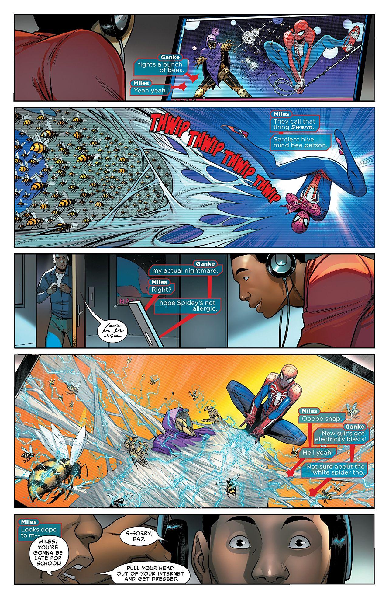 marvel's spider-man 2 swarm vilain ?