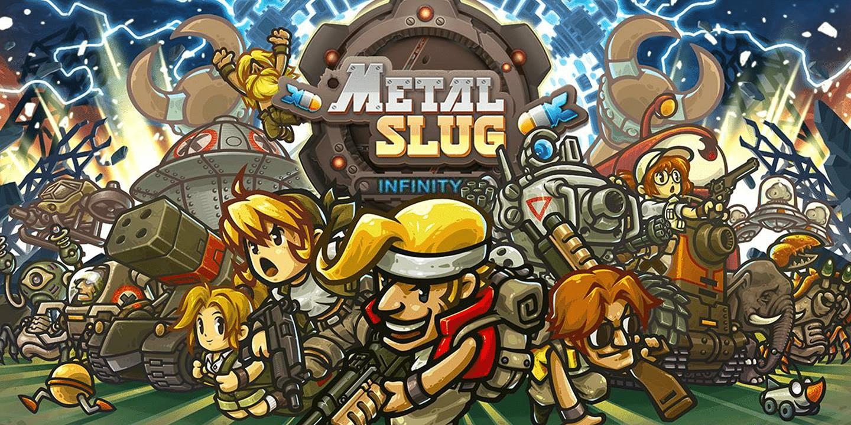Metal Slug Infinity logo