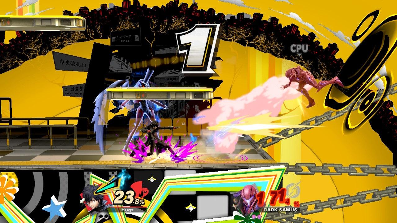 Super Smash Bros. Ultimate - Momentos Persona 4