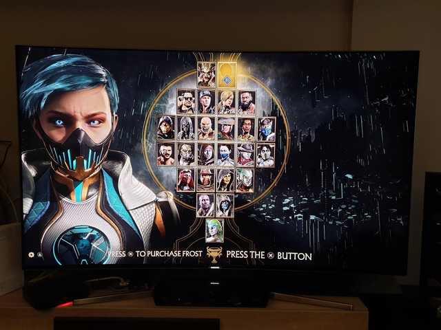 Mortal Kombat 11 - Frost Ecran de sélection