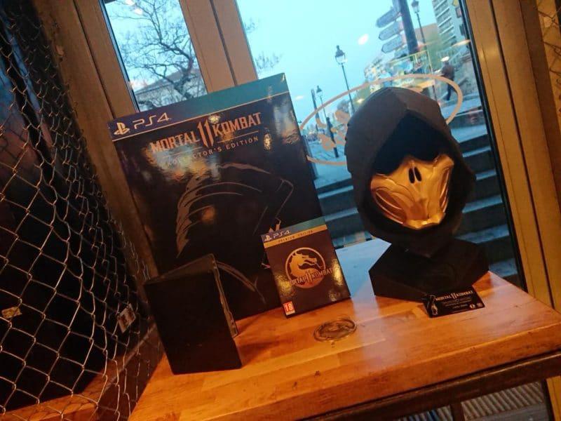 Mortal Kombat 11 collector