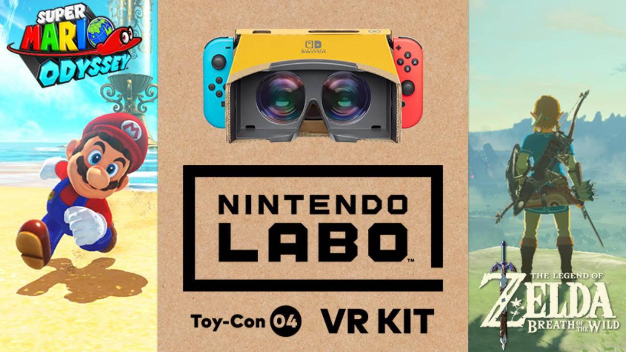 Nintendo Labo - accueilli par Zelda et Mario