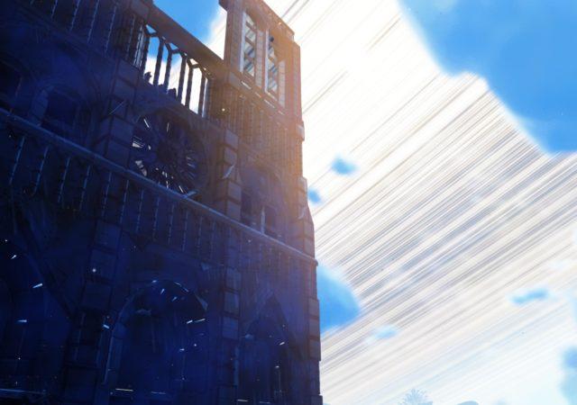 no man's sky notre dame façade