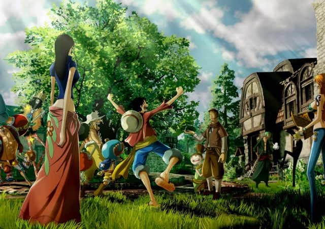 One Piece World Seeker équipage