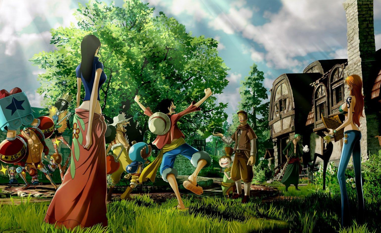 One Piece World Seeker équipage