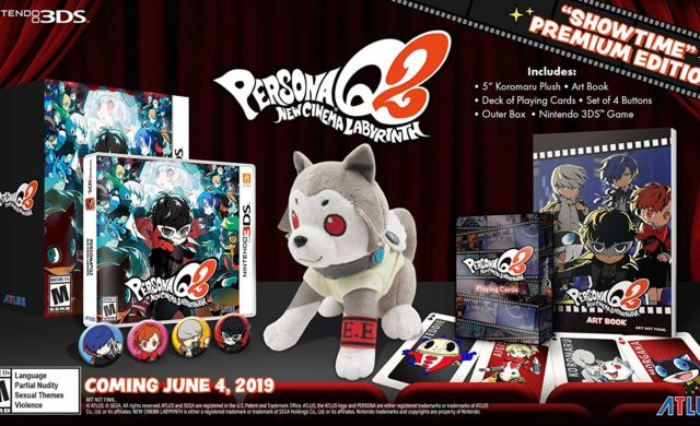 Persona Q2 Collector Showtime Premium Edition