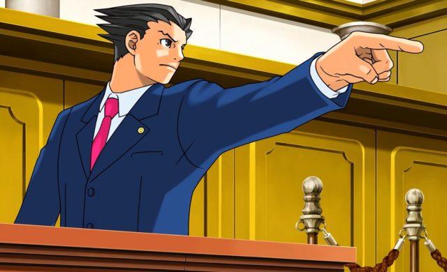 Phoenix Wright Ace Attorney Trilogy - Objection de Phoenix Wright