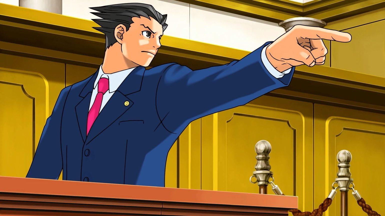 test phoenix wright ace attorney trilogy le doigt de la