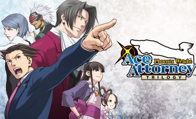 Phoenix Wright: Ace Attorney Trilogy logo