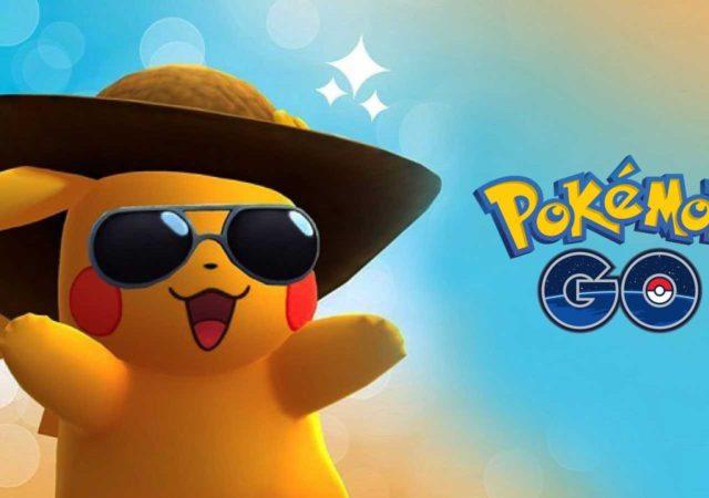 Pokémon GO - Été sous le soleil